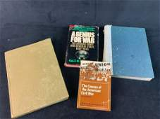 Lot Of 4 Vintage Military Books