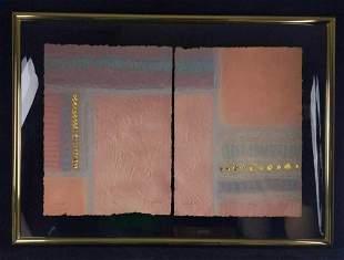 Vintage Pressed Embelleshed LE Print The Secret
