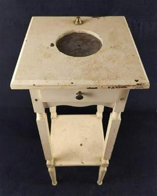 Antique HT Cushman Smoking Caddy Cigar Table