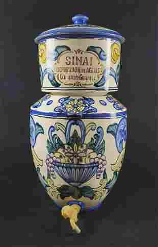 Vintage Ceramic Sinai Water Filter