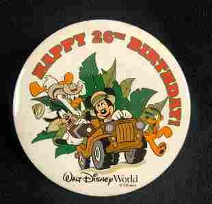A Lot of 160 Vintage Walt Disney World Happy 26th