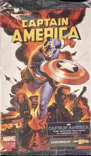 2014 Captain America Comic Book Custom Edition
