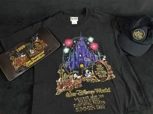 Lot of 3 1999 Walt Disney World's Main Street