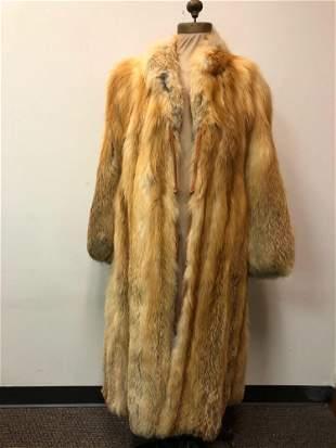 Fur Coat Red Fox
