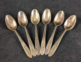 Silver Plated Tea Spoons