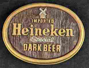 Imported Heineken Windmill Darl Beer Sign