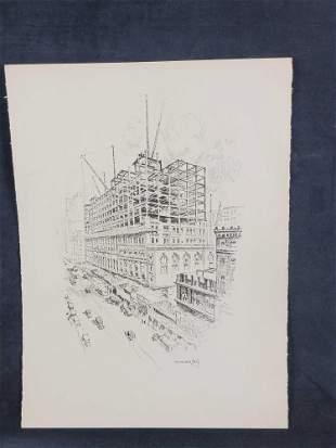 Vernon Howe Bailey City Life Print