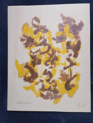 Original Painting By Van Dommelen Signed