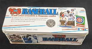 Fleer 1988 Baseball Cards Commemorative Collectors Tin