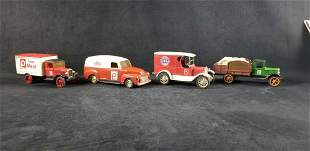 Publix Co Ertl Delivery Diecast Coin Bank Cars Lot B