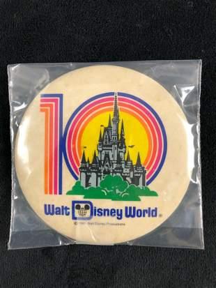 Lot of 9 Vintage Official 1981 Walt Disney World 10