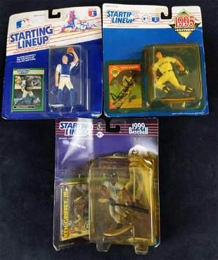 3 Starting Lineup Baseball Action Figures Schmidt
