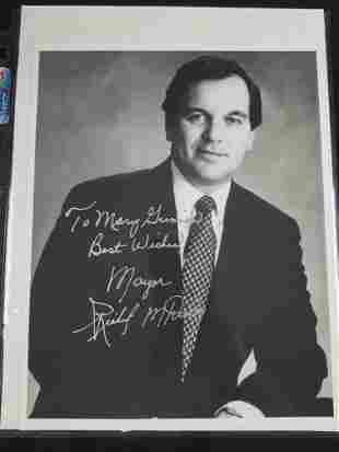 Autographed photo of Mayor Richard M Daley of Chicago
