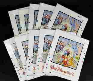 Lot Of Eleven Disney Walt Disney World 15 Month 1996 to