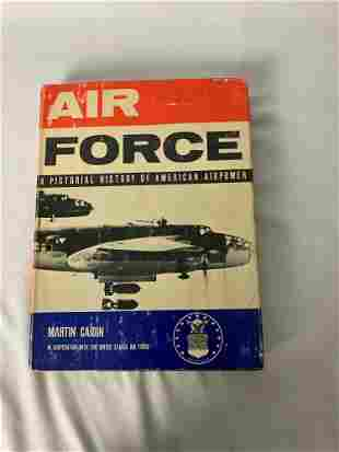 """Hardcover """"Air Force, A Pictorial History of American"""