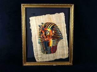 "Egyptian Pharaoh King Tutankhamon Famous "" Mask """