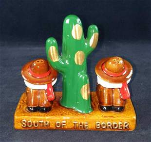 Vintage South Of The Border Salt Pepper Shakers