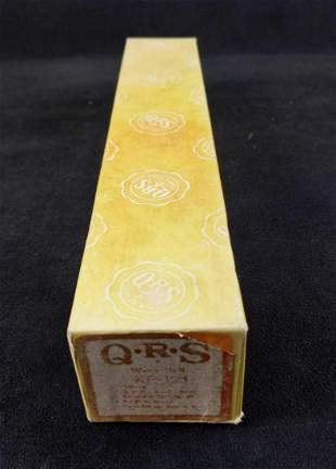 Vintage Q R S Player Piano Roll Oklahoma Melody