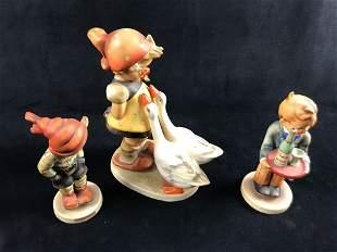 Hummel Figurines Vintage Large Figure Plus Two Reg