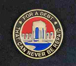 Volusia Honor Air 2008 Medallion Coin