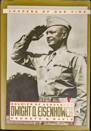 Dwight D Eisenhower Soldier of Democracy Hardcover
