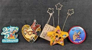 Disney Button Photoholder Ornament Magnet