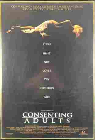 Framed Consenting Adults 1992 Movie Poster