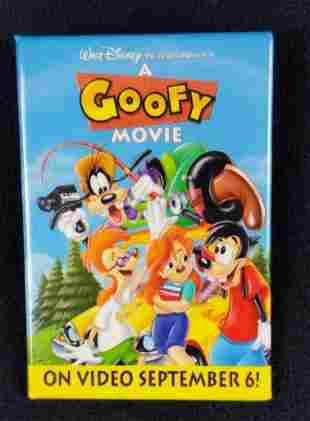 Disney A Goofy Movie Goof Troop Pinback Button