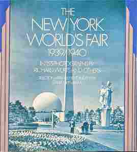 Vintage New York Worlds Fair 1939 1940 Photo Book
