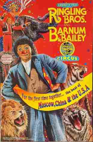 Ringling Bros Barnum Bailey Circus Program Magazine