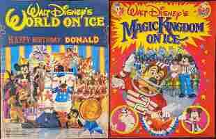 Two Walt Disneys World On Ice Donald Duck Birthday
