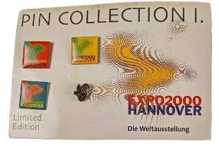 Rare German Expo2000 Worlds Fair Pin Collection 1
