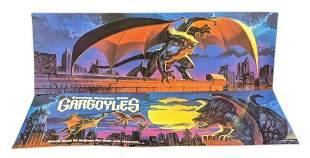 Two Rare Disney Gargoyles Bus Advertising Signs