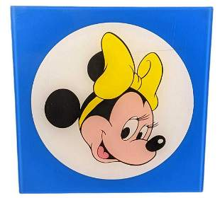Disney World Acyrlic Character Retail Used Display