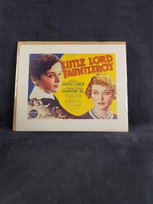 Lobby Card Little Lord Fauntieroy