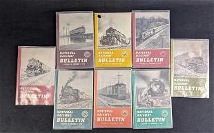 National Railway Bulletin Booklet Variety