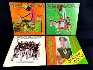 (4) Vinyl Records 1970's Era Augustus Pablo and Inner