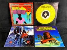 Four Vinyl Records 1970's Era Jacob Miller, Yes, Third