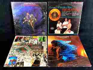 Four 1960's-1970's Vinyl Records The Platters, The