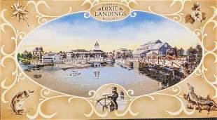 14 Disney Dixie Landing Resort Post Cards