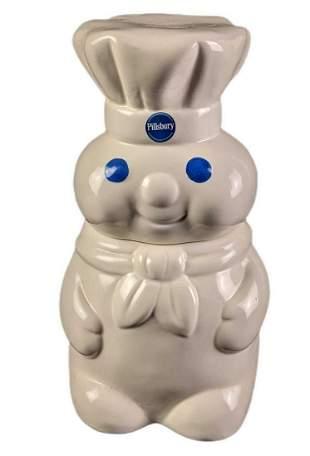 Ceramic Pillsbury Doughboy Ceramic Cookie Jar