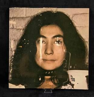 Yoko Ono Four Sided Vinyl Record