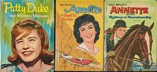 3 Vintage Hardcover Disney Children's Mystery Books
