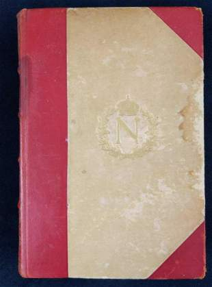 Vintage Napoleon Hardcover Emil Ludwig Danish Ver