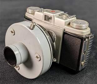 Vintage Kodak Pony 135 Camera With T-Adapter Telescope