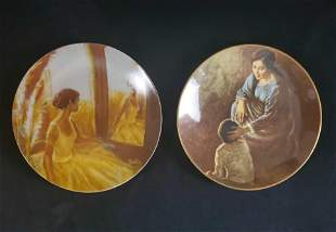 Reverie and Dear Child Decorative Plates Spencer