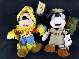 Disney Bean Bag Disneyana Minnie Scarecrow Mickey