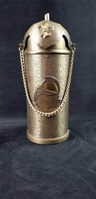 Rare Medieval Knight Armor Liquor Dispenser Camelot
