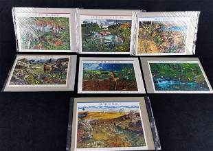 11 Nature of America US Uncut Stamp Series