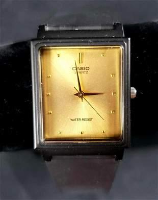 Casio Quartz Water Resistant Watch